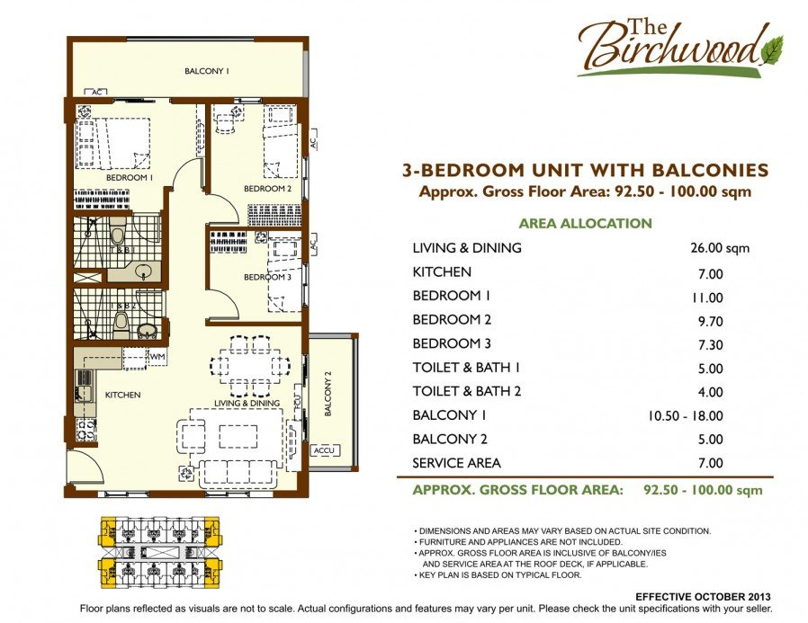 Birchwood Floor Plan