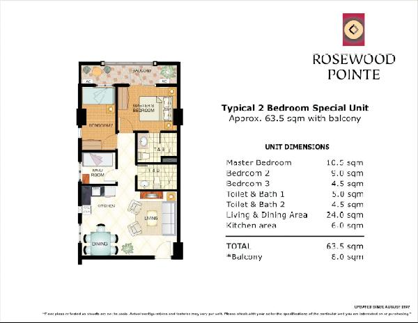 rosewood 2br special