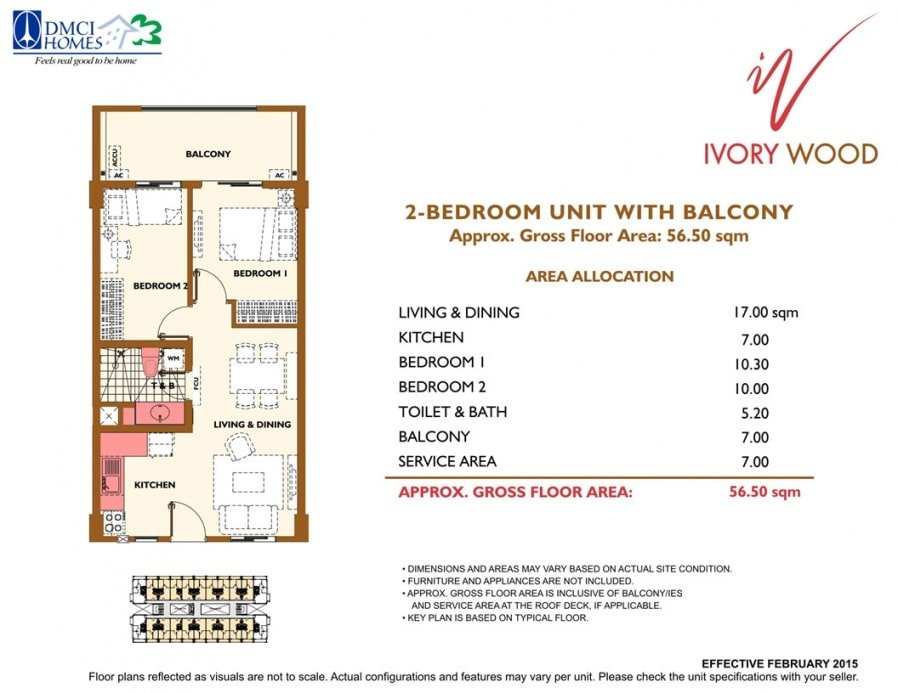 Ivory Wood Floor Plan