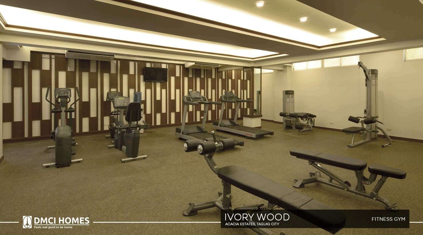 Ivory Wood-Fitness Gym-large