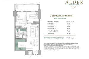 Alder Acacia 2BR-Type A