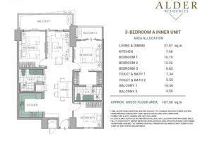 Alder Acacia 3BR-Type A